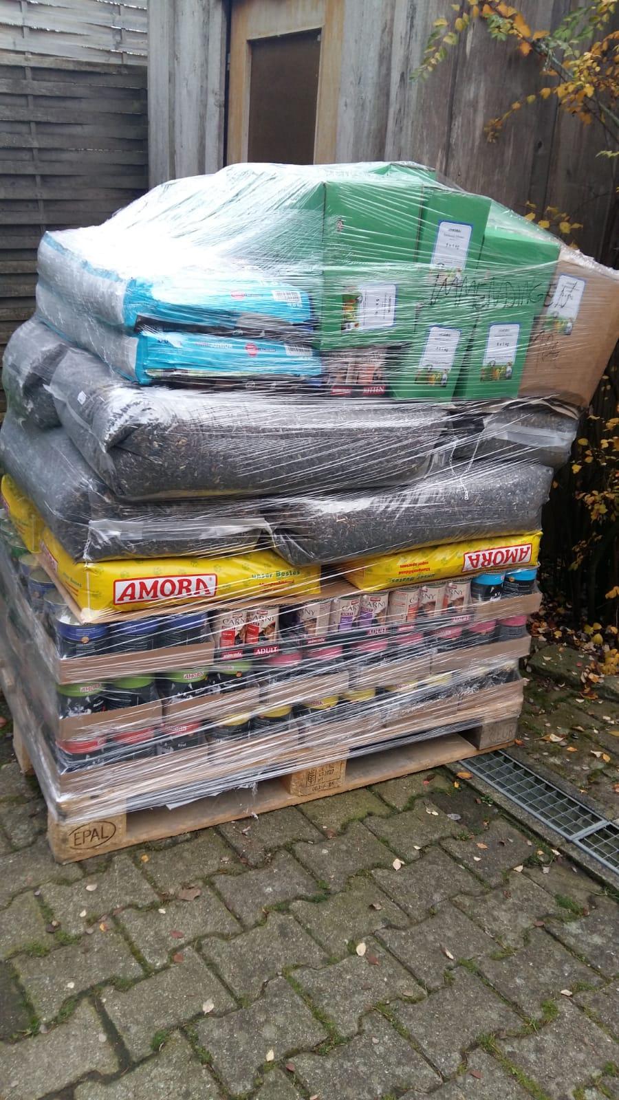 Futtermittel-Lieferung Tiere in Not Immendingen e.V.